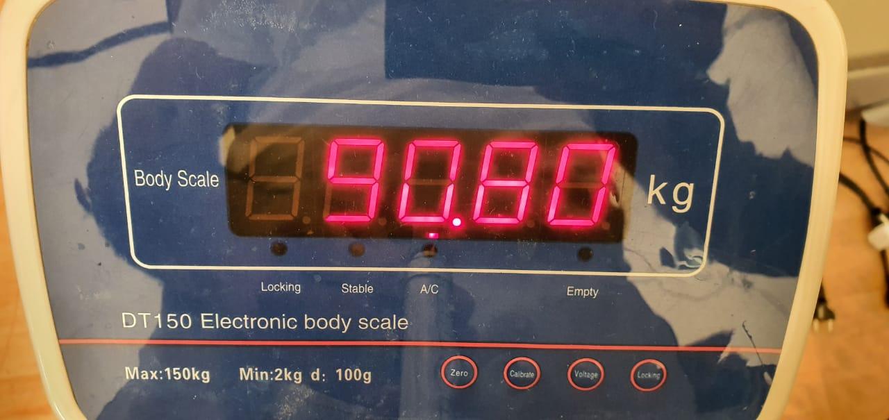 Huseynov's Weight in '20