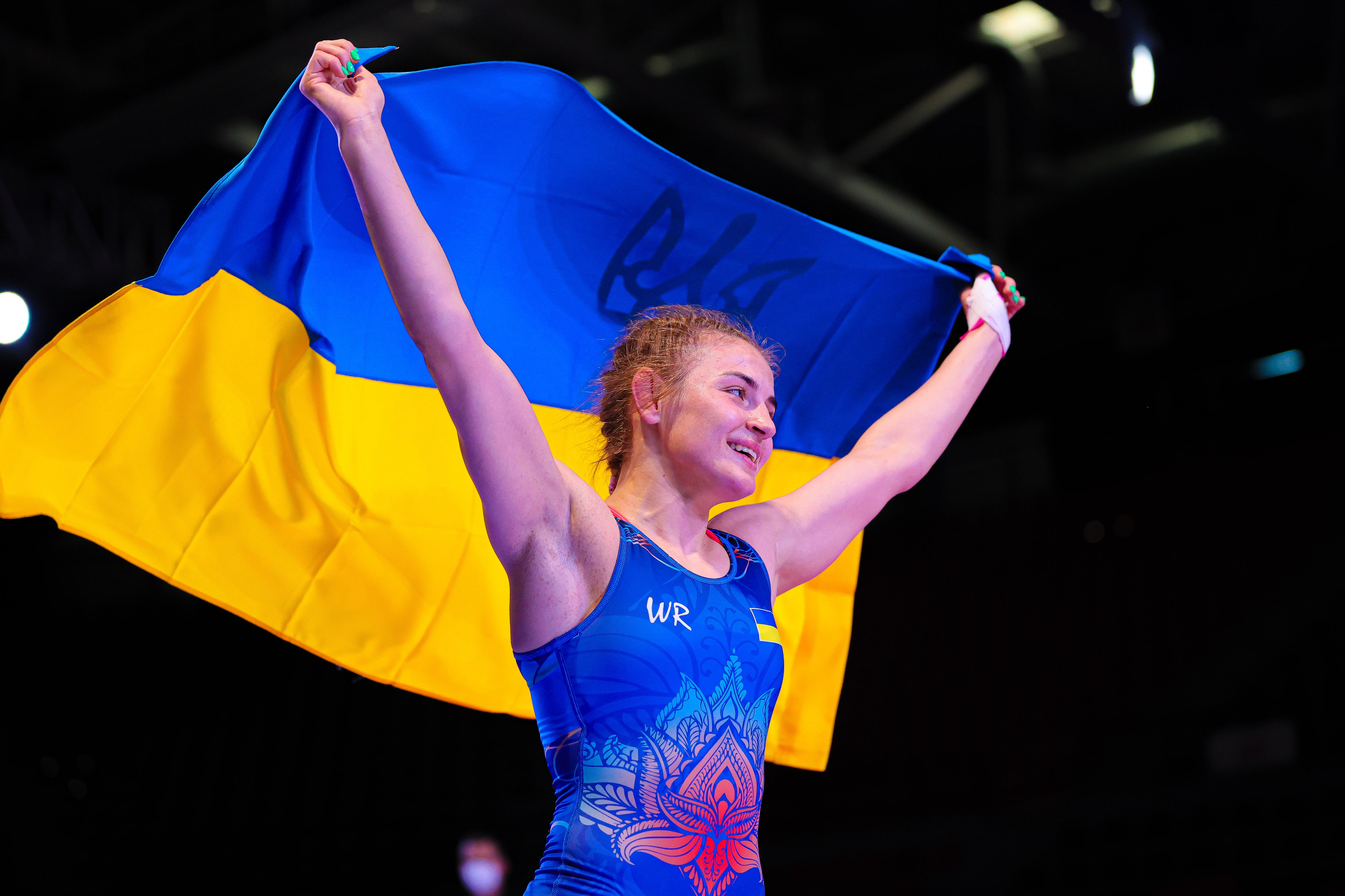 Alina AKOBIYA U23 European Championships