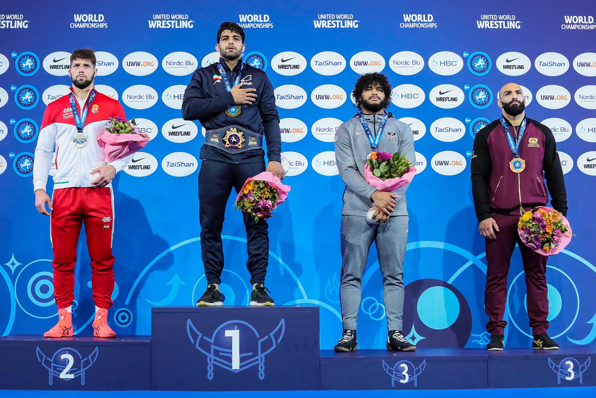 Oslo podium