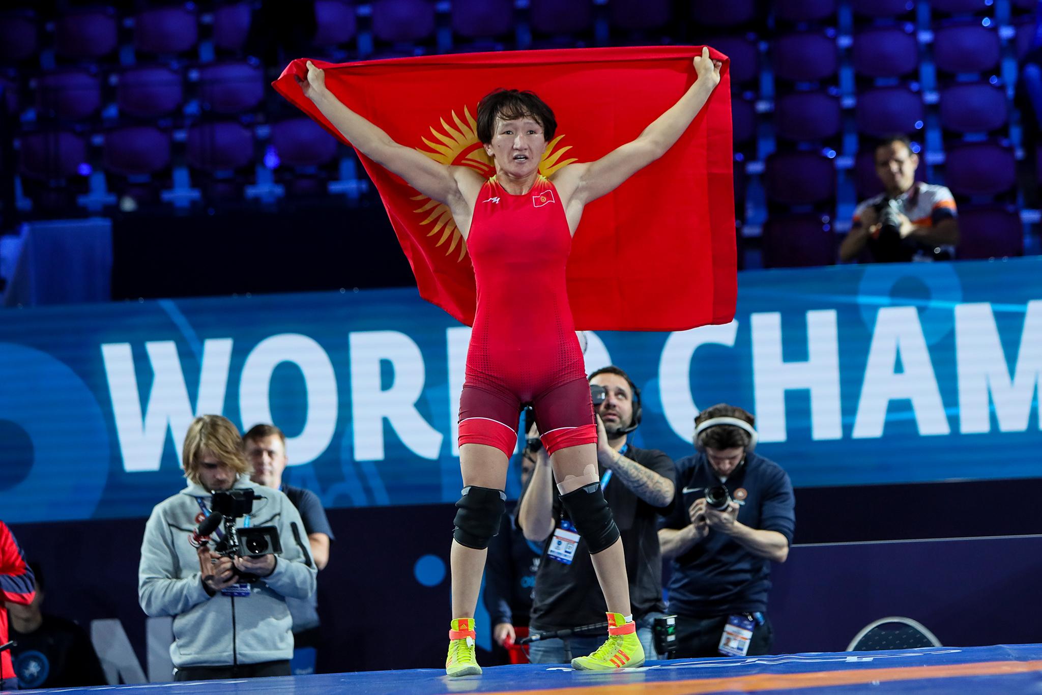 AIsuluu Tynybekova